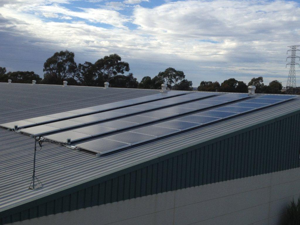 Factory Roof Plant in New South Wales,Australia