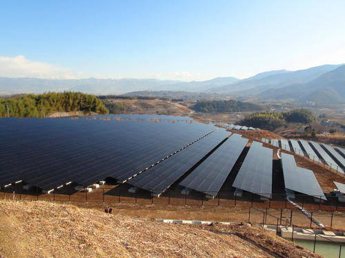 Solar Power Plant in Gwangju,Korea